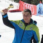 """Скиорът Мартин Маринов със сребърен медал от слалома за купа """"Пиба"""" в Банско"""