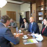 Посланикът на Чехия Душан Щраух гостува в Самоков, гр. Кутна Хора отново на дневен ред