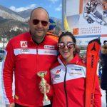 Симона Скробанска и Ева Вукадинова станаха държавни шампиони на слалом и гигантски слалом