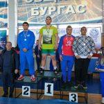 Борецът Валентин Валентинов със сребърен медал от държавното първенство за кадети в Бургас