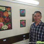 Цветна феерия в третата самостоятелна изложба на Танер Мерт в Самоков