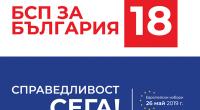 """18 – БСП за България В бушуващо червено море се превърна на 20 май залата на читалище-паметник """"Отец Паисий"""". Стотици червени балони с изписано числото 18 върху тях възвестяваха номера […]"""