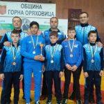 "Шампионска титла и пет медала за малките борци на ""Рилски спортист"""