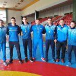 Бронзови медали от държавното за борците Ангел Чолев, Атанас Терзийски и Валентин Валентинов