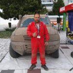 """Симеон Цинцов от МСК """"Самоков"""" триумфира в 500-те километра от сериите """"Баха"""" в Румъния"""