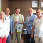 Кметът прие шефа на ротарианците в България, взаимодействието ще се засилва