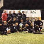 """""""Големите"""" детронираха """"Холандците"""" на есенния турнир по мини футбол"""