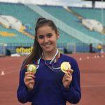 Триумф за Изабел Крамарска в Атлетическата лига