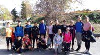 """Общинският кръг на ученическите игри по лека атлетика се състоя на 6 ноември.При момичетата от 5 до 7 клас в отборното класиране първото място зае отборът на ОУ """"Св. св. […]"""