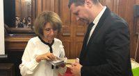 На среща на областния управител Илиан Тодоров с представители на Еврейската общност в Париж домакините са обещали да подпомогнат реставрацията на Синагогата в Самоков.Ил. Тодоров бе на посещение в столицата […]