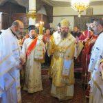 Епископ Поликарп отслужи литургия в Долномахаленската черква