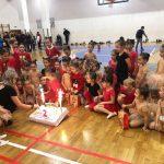 Две години художествена гимнастика в Самоков