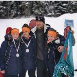 """Сребърни медали за момичетата на клуб """"Боровец"""" от държавното първенство по биатлон"""