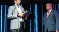 """Владимир Георгиев приветства лично инж. Петър Георгиев за неговия юбилей. На 27 март дългогодишният директор на """"Самел-90"""" АД, президент на баскетболния клуб """"Рилски спортист"""" и общински съветник навърши 70 години.""""Инж. […]"""