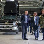 """Министърът на отбраната Красимир Каракачанов посети """"Самел-90"""""""