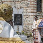 Епископ Поликарп  с литургия за Паисий, отец Емилиян стана протоиерей